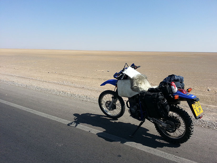 Motorcycling in Iran