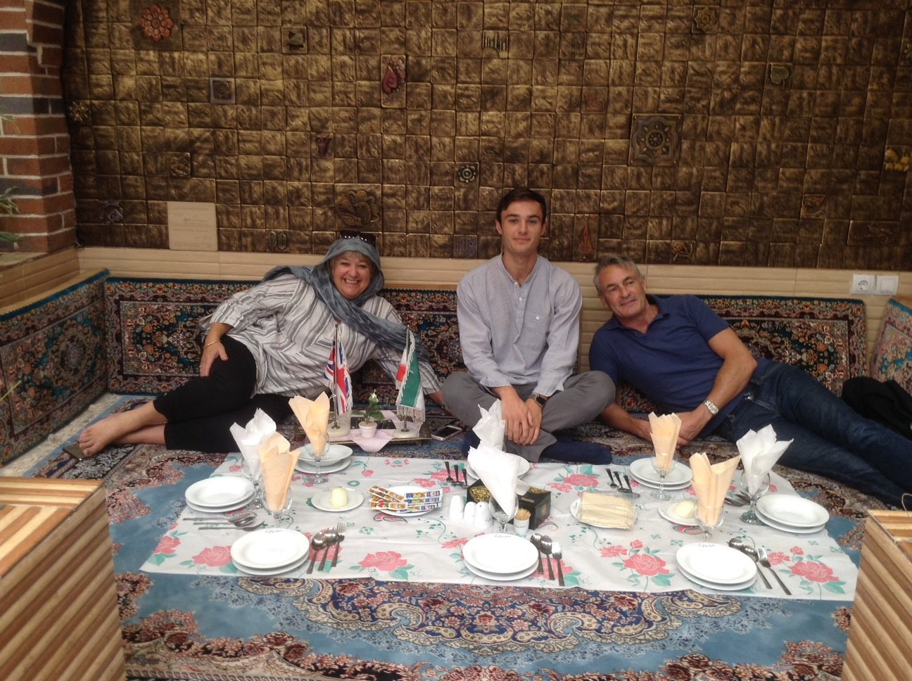 Lawson family iran travel 2017