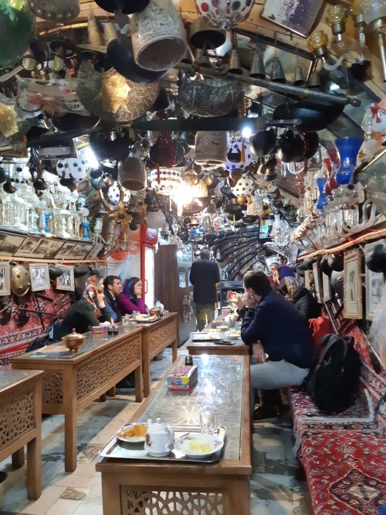 Teahouse in Isfahan